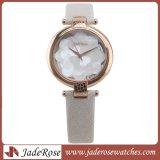 Mulheres clássico de couro Lady Assista vestido à prova de relógios de pulso meninas de ouro nobre da moda