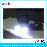 Solarhauptinstallationssätze 3.5W mit Solarlicht u. Sonnenkollektor u. USB-Kabel