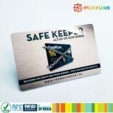 Construtor seguro RFID do cartão de crédito da invenção nova que obstrui o cartão