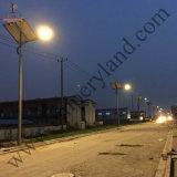 angeschaltenes 10W Parkplatz-Solarlicht