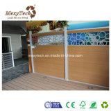 Kundenspezifischer Zusammensetzung-Zaun des spezieller Entwurfs-Aluminiumrahmen-WPC
