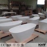 Kleine kundenspezifische Größen-feste freistehende Oberflächenbadewanne