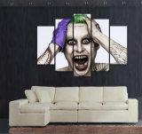يشكّل طبق [هلّووين] مزّاح صورة ملصقة حديثة بينيّة زخرفة جدي جدار فنية طبق [هلّووين] صورة زيتيّة على نوع خيش جدار فنية