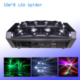 Het LEIDENE van de Lichtstraal van de spin Bewegen zich Hoofd Lichte 10W 8PCS