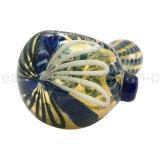 Hersteller GroßhandelsColord Art-Glaslöffel für das Universalitäts-Rauchen (ES-HP-264)