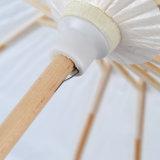 Hermoso más paraguas del Libro Blanco del paraguas de los parasoles de la decoración de los colores