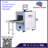Inspeção de raio X scanner para email, pequenas encomendas, Malas e maletas