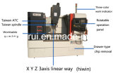 販売のための8000rpm Xh7124の小さい縦のマシニングセンター
