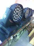 Bewegliches Hauptlicht LED-36X18W mit lautem Summen mit Kreis-Funktion