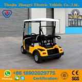 Тележка гольфа Approved миниого 2 Seater желтого цвета Ce электрическая с высоким качеством