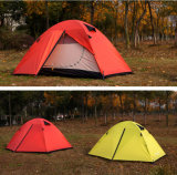 بيع بالجملة 2 شخص خيمة, [دووبل لر] [فيبرغلسّ] [بول] خيمة