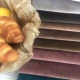 Tissu polyester spandex en Italie pour le canapé en velours