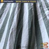 침대 시트를 위한 100%년 폴리에스테 줄무늬 털실에 의하여 염색되는 Hometextile 직물