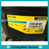Prezzo competitivo del compressore del frigorifero di R134 Danfoss per Secop1/3HP 250W Sc12g
