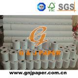 Papel de imprenta termal a granel de la caja registradora en rodillo