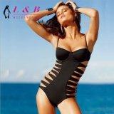 Nueva moda mujer caliente sexy traje de baño bikini brasileño de ganchillo hechos a mano