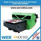 Printer wer-D4880UV van de Printer van de Mok van de Koffie van de Grootte van Ce de ISO Goedgekeurde A2 Digitale Multifunctionele UV