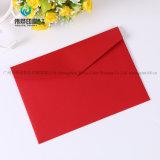 Enveloppe de papier estampée par couleur de empaquetage de sucrerie de carte d'invitation