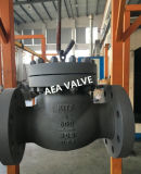 China proveedor fundición de acero la válvula de retención de giro con la lista de precios
