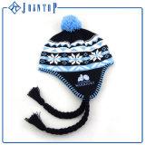 Acrylique drôle du chapeau 100% de Beanie d'Earflap de l'hiver de nouveauté