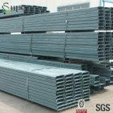 Purlin della sezione del metallo C per l'alta costruzione del tetto della struttura d'acciaio