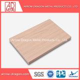 Comitato di alluminio del favo di struttura di legno per le forniture di ufficio