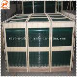 PVCによって塗られる溶接された金網のパネル