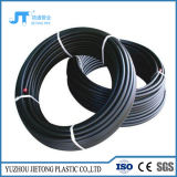 PE100 tubo tubo de polietileno de HDPE Pn10 PN 16 Preto Lista de preços dos tubos de plástico de água de HDPE