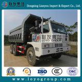 HOWO 70tons 덤프 트럭, 탄광 팁 주는 사람 트럭