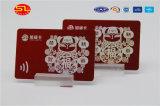 Smart card da identificação do PVC da impressão de cor do certificado quatro