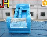 青猫の党のための屋外の膨脹可能な庭水スライド