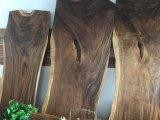 De Stevige Houten Koffietafel van de okkernoot, de Bovenkant van de Eettafel van de Stoel, Lijst van het Restaurant van het Werk de Hoogste