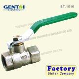 Robinet à tournant sphérique en laiton avec le traitement en acier BT. 1011