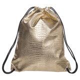 Gymnastikdrawstring-Rucksack-Zeichenkette-Beutel Sackpack für Mädchen und Jungen