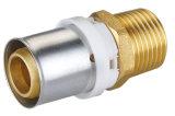 Montaggi d'ottone della pressa Pex di Al di ASTM del tubo standard di Pex per il sistema di riscaldamento del pavimento