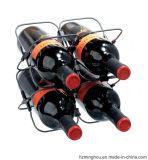 Cremagliera alta all'ingrosso del vino della visualizzazione di condizione del pavimento della cremagliera del vino del metallo