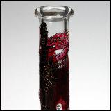 Vidrio de alta calidad de 7mm de tubo de vaso de agua fumar narguile