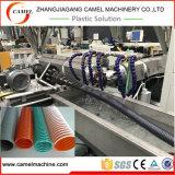 Máquina espiral de la protuberancia del manguito del PVC con el estirador de solo tornillo
