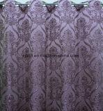 居間のための紫色の古典的なデザイン卸売のカーテンファブリック