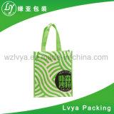 Promoción ecológica tejida de polipropileno laminado personalizada Bolsa Bolsa de compras