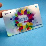 Barcode printing PVC NFC NTAG215 충절 카드
