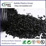 Polyamide 66 de Zwarte Kleur Masterbatch van de PA van het Plastic Materiaal voor Uitdrijving