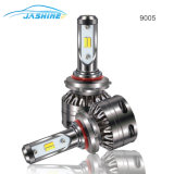 Car parts Car S5 LED Bulb Brightest 6000lm 9006 with White and Yellow dual Color LED Headlight