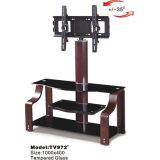 Gabinete de madeira do carrinho da tevê da tabela da televisão da mobília da sala de visitas