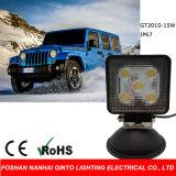 15W Quadrat 4 '' LED-Arbeits-Licht für Auto, LKW