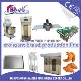 Cadena de producción automática del Croissant del equipo de la panadería máquina del Croissant de 7 días