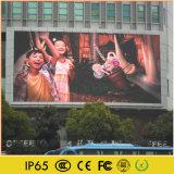 L'extérieur de la publicité vidéo plein écran LED de couleur