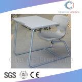 学校家具(CAS-SD1828)についての現代青いコンボの単一学生の机そして椅子