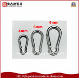 Gancho DIN5299 da pressão da mola de Carabiner do aço inoxidável