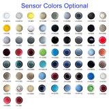 3 van het Achter LEIDENE van Front& van de Auto van de kleur het Systeem van de Sensor Parkeren van de Vertoning met 4/6/8 Facultatieve van Sensoren